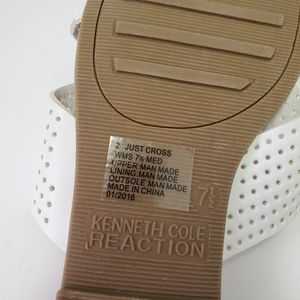 Kenneth Cole Shoes - Kenneth Cole Reaction White Slip On Sandals